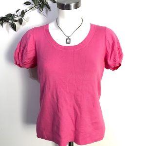 Ann Taylor LOFT Pink Blouse